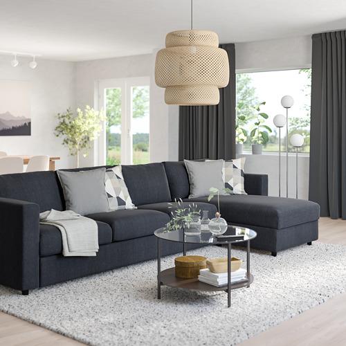 VIMLE - 四座位梳化連躺椅, Saxemara 藍黑色 | IKEA 香港及澳門 - PE799812_S4