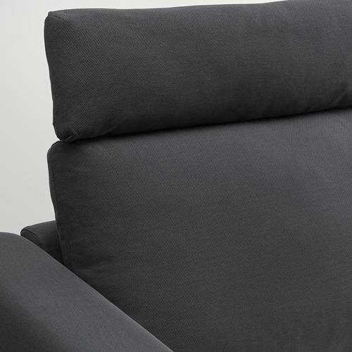 VIMLE - 三座位梳化, 連頭枕/Hallarp 灰色 | IKEA 香港及澳門 - PE799854_S4