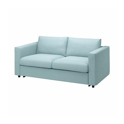 VIMLE - cover for 2-seat sofa-bed, Saxemara light blue | IKEA Hong Kong and Macau - PE799892_S4