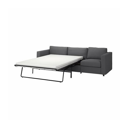 VIMLE - 3-seat sofa-bed, Hallarp grey | IKEA Hong Kong and Macau - PE799903_S4