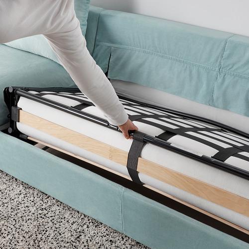 VIMLE - 三座位梳化床, 有寬闊扶手/Saxemara 淺藍色 | IKEA 香港及澳門 - PE799924_S4