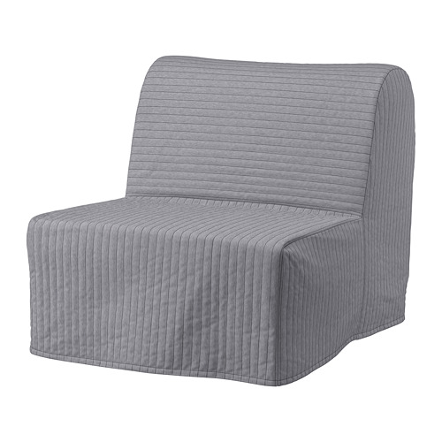 LYCKSELE - cover for chair-bed, Knisa light grey | IKEA Hong Kong and Macau - PE799948_S4
