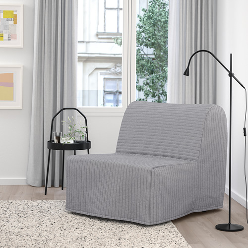 LYCKSELE HÅVET - chair-bed, Knisa light grey | IKEA Hong Kong and Macau - PE799962_S4