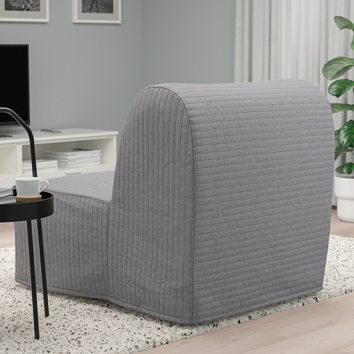 LYCKSELE HÅVET - chair-bed, Knisa light grey | IKEA Hong Kong and Macau - PE799950_S4