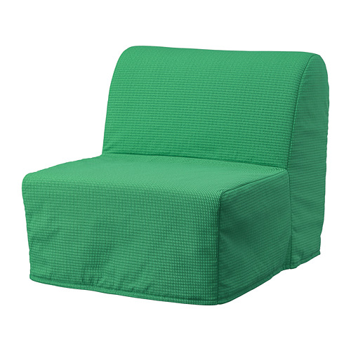 LYCKSELE MURBO - chair-bed, Vansbro bright green | IKEA Hong Kong and Macau - PE799957_S4