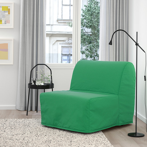 LYCKSELE MURBO - chair-bed, Vansbro bright green | IKEA Hong Kong and Macau - PE799958_S4