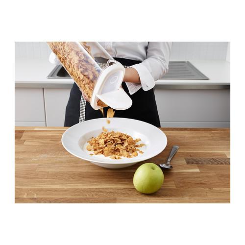 IKEA 365+ - 食物盒, 透明/白色, 2.3 升   IKEA 香港及澳門 - PE388122_S4