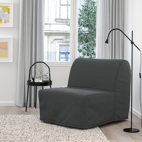 LYCKSELE MURBO - chair-bed, Vansbro dark grey   IKEA Hong Kong and Macau - PE799961_S4