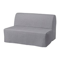LYCKSELE LÖVÅS - 2-seat sofa-bed, Knisa light grey | IKEA Hong Kong and Macau - PE799982_S3
