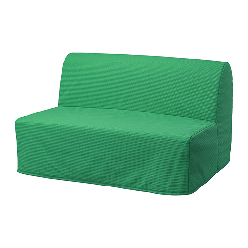 LYCKSELE HÅVET - 2-seat sofa-bed, Vansbro bright green | IKEA Hong Kong and Macau - PE799973_S4