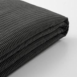 LYCKSELE - cover for 2-seat sofa-bed, Vansbro dark grey | IKEA Hong Kong and Macau - PE799991_S3