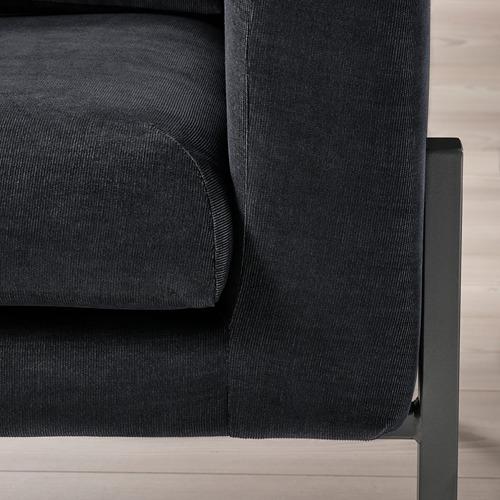 KOARP - 扶手椅, Saxemara 藍黑色/黑色   IKEA 香港及澳門 - PE800032_S4