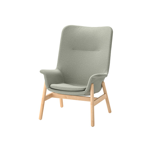 VEDBO - high-back armchair, Gunnared light green | IKEA Hong Kong and Macau - PE800039_S4