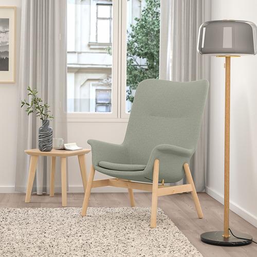 VEDBO - high-back armchair, Gunnared light green | IKEA Hong Kong and Macau - PE800040_S4
