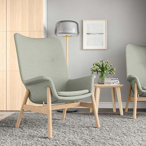 VEDBO - high-back armchair, Gunnared light green | IKEA Hong Kong and Macau - PE800041_S4