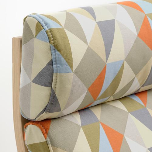 POÄNG - armchair, birch veneer/Rockneby multicolour   IKEA Hong Kong and Macau - PE800048_S4