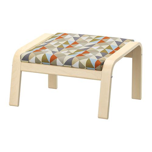 POÄNG - footstool, birch veneer/Rockneby multicolour | IKEA Hong Kong and Macau - PE800062_S4
