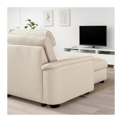 LIDHULT - 四座位梳化, 連躺椅/Gassebol 淺米黃色 | IKEA 香港及澳門 - PE705917_S4