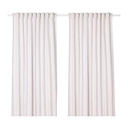 TIBAST - 窗簾,一對, 米黃色 | IKEA 香港及澳門 - PE658027_S3