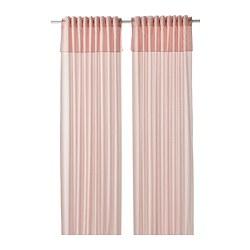MOALISA - curtains, 1 pair, pale pink/pink | IKEA Hong Kong and Macau - PE801217_S3