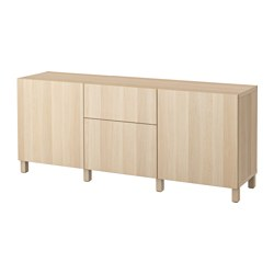 BESTÅ - storage combination with drawers, Lappviken white stained oak effect | IKEA Hong Kong and Macau - PE535233_S3