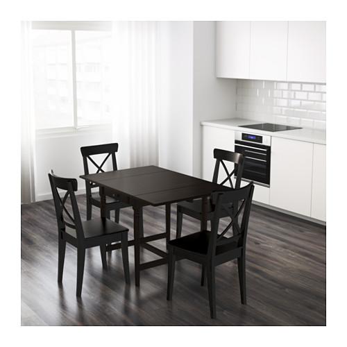 INGATORP - 摺板檯, 棕黑色 | IKEA 香港及澳門 - PE599473_S4