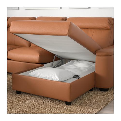 LIDHULT 6座位角位梳化床