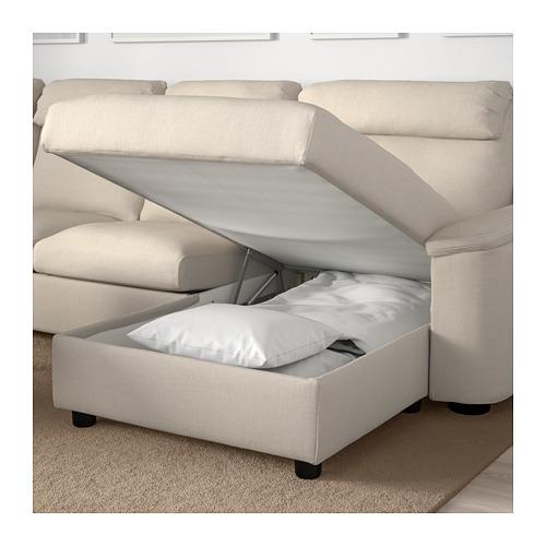 LIDHULT - 四座位梳化, 連躺椅/Gassebol 淺米黃色 | IKEA 香港及澳門 - PE706076_S4