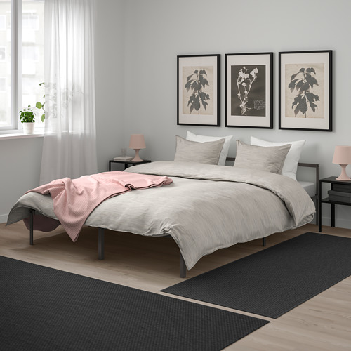 GRIMSBU bed frame, LURÖY, double