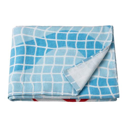 SPORTSLIG - bath towel, swimming pool pattern | IKEA Hong Kong and Macau - PE800249_S4