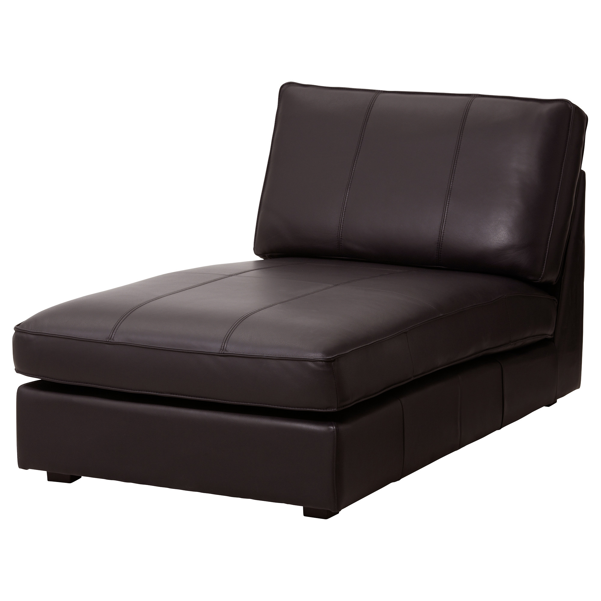 KIVIK, chaise longue, Grann/Bomstad dark brown