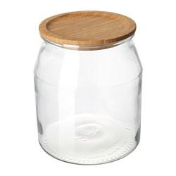 IKEA 365+ - 連蓋瓶, 玻璃/竹, 3.3 升 | IKEA 香港及澳門 - PE706148_S3