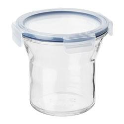 IKEA 365+ - jar with lid, glass/plastic, 1L | IKEA Hong Kong and Macau - PE706151_S3