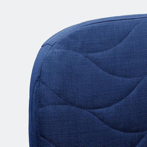 NYHAMN - 3-seat sofa-bed, with foam mattress/Skiftebo blue | IKEA Hong Kong and Macau - PE800323_S4