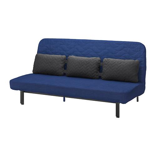 NYHAMN - 梳化床連咕, 附有獨立袋裝彈簧床褥/Skiftebo 藍色   IKEA 香港及澳門 - PE800325_S4