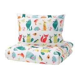 LATTJO - 被套枕袋套裝, 動物/彩色 | IKEA 香港及澳門 - PE706474_S3