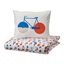 SPORTSLIG - 被套枕袋套裝, 單車   IKEA 香港及澳門 - PE800715_S3