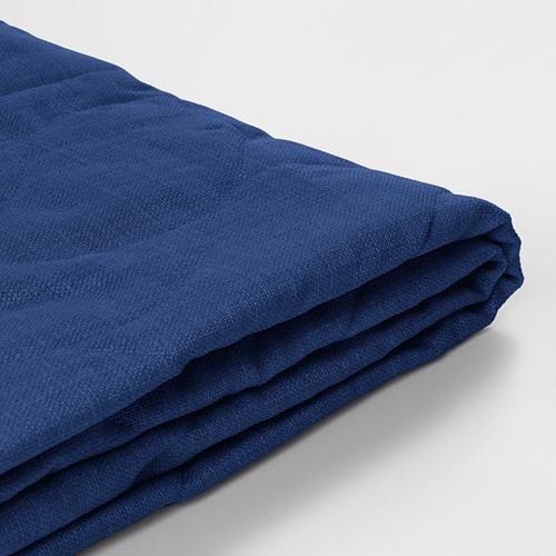NYHAMN - 三座位梳化床布套, Skiftebo 藍色 | IKEA 香港及澳門 - PE800712_S4