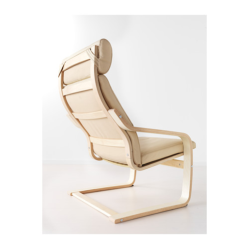 POÄNG - armchair, birch veneer/Glose eggshell | IKEA Hong Kong and Macau - PE389390_S4