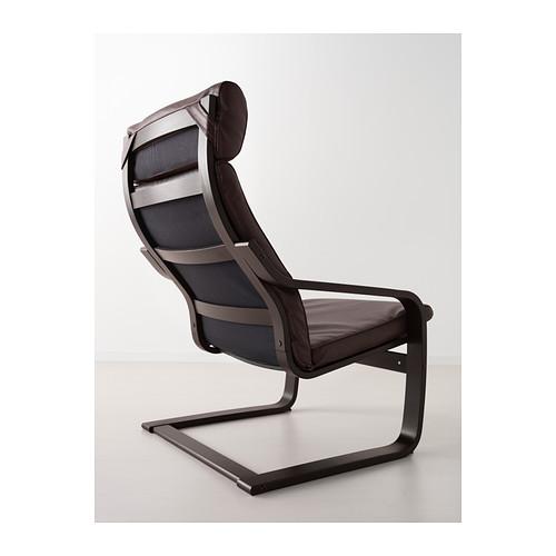 POÄNG - 扶手椅, 棕黑色/Glose 深褐色 | IKEA 香港及澳門 - PE389394_S4