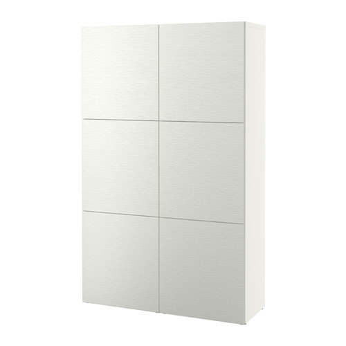 BESTÅ - storage combination with doors, Laxviken white | IKEA Hong Kong and Macau - PE535040_S4