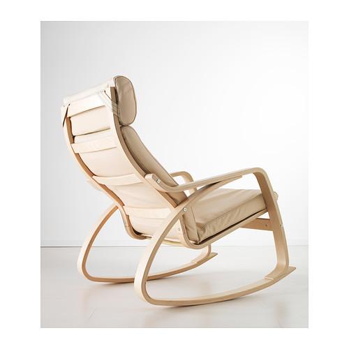POÄNG - rocking-chair, birch/Glose eggshell | IKEA Hong Kong and Macau - PE389589_S4