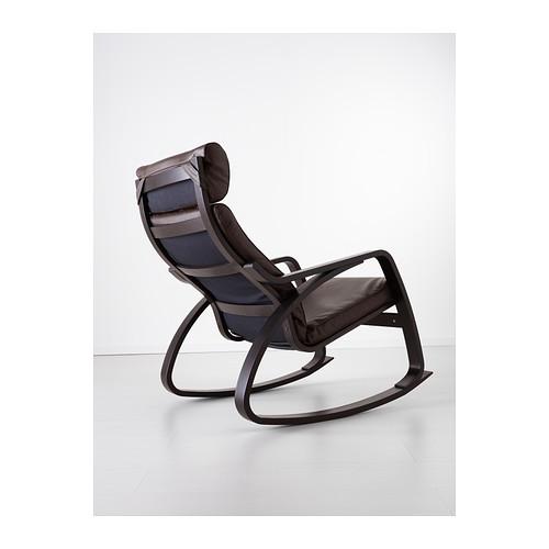 POÄNG - rocking-chair, black-brown/Glose dark brown | IKEA Hong Kong and Macau - PE389458_S4