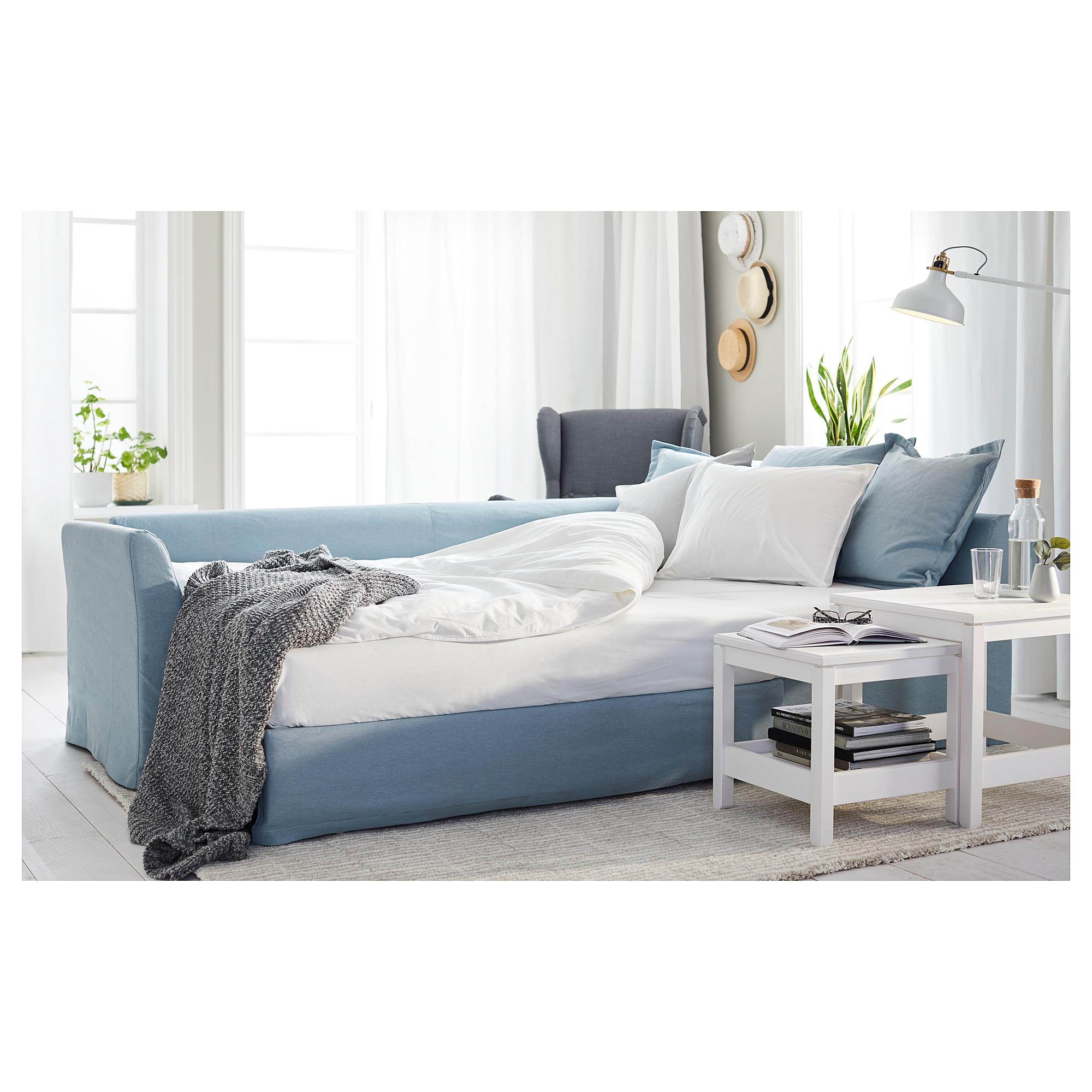 holmsund  corner sofabed, orrsta light blue  ikea hong kong