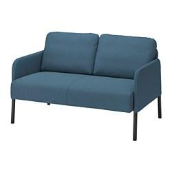 GLOSTAD - 2-seat sofa, Knisa medium blue   IKEA Hong Kong and Macau - PE800740_S3
