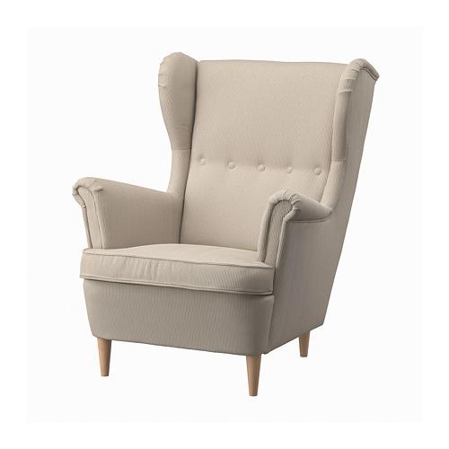 STRANDMON - 扶手椅, Kelinge 米黃色 | IKEA 香港及澳門 - PE800821_S4