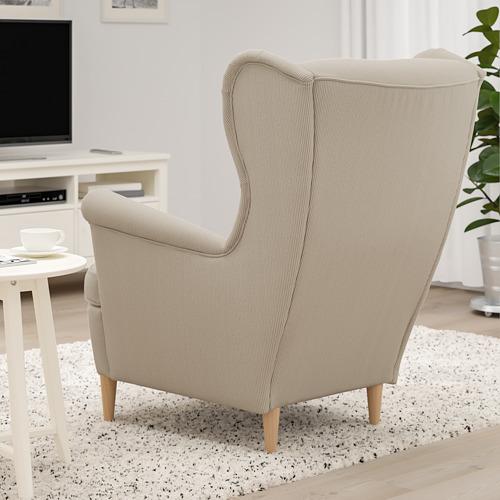STRANDMON - 扶手椅, Kelinge 米黃色 | IKEA 香港及澳門 - PE800826_S4