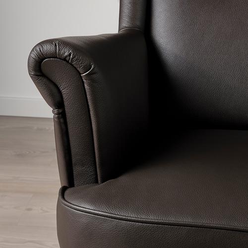 STRANDMON - 扶手椅, Grann/Bomstad 深褐色 | IKEA 香港及澳門 - PE800832_S4