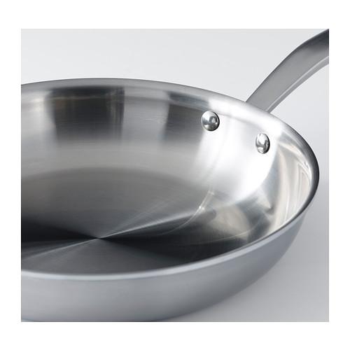 SENSUELL - 平底鑊 24厘米, 不銹鋼/灰色 | IKEA 香港及澳門 - PE389743_S4