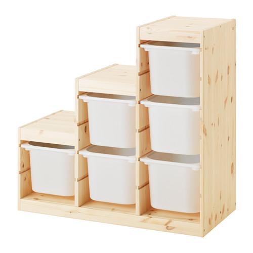 TROFAST - storage combination, light white stained pine/white | IKEA Hong Kong and Macau - PE547506_S4